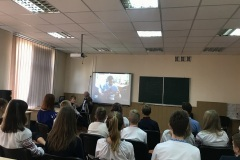 телеміст із школою м. Бахмуту Донецької області